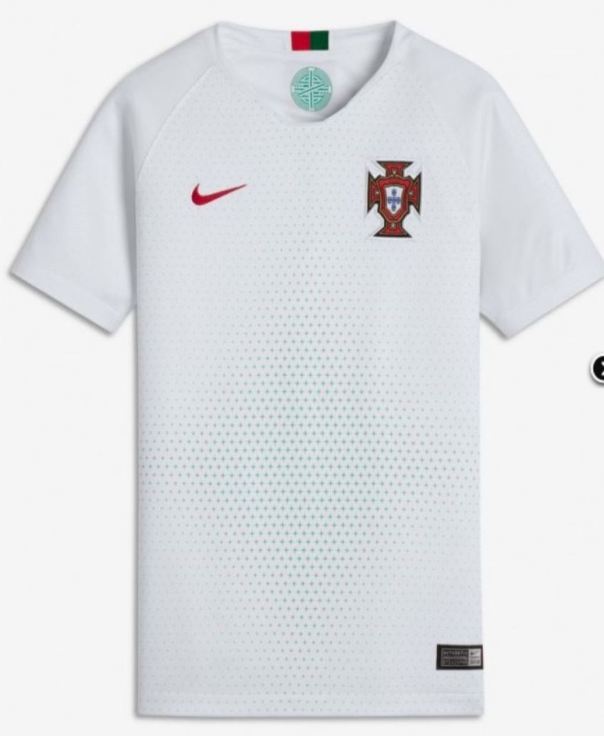 camiseta de portugal alterno