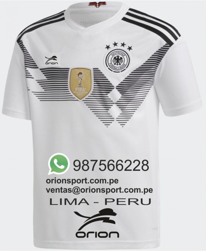 camiseta de futbol de Alemania local