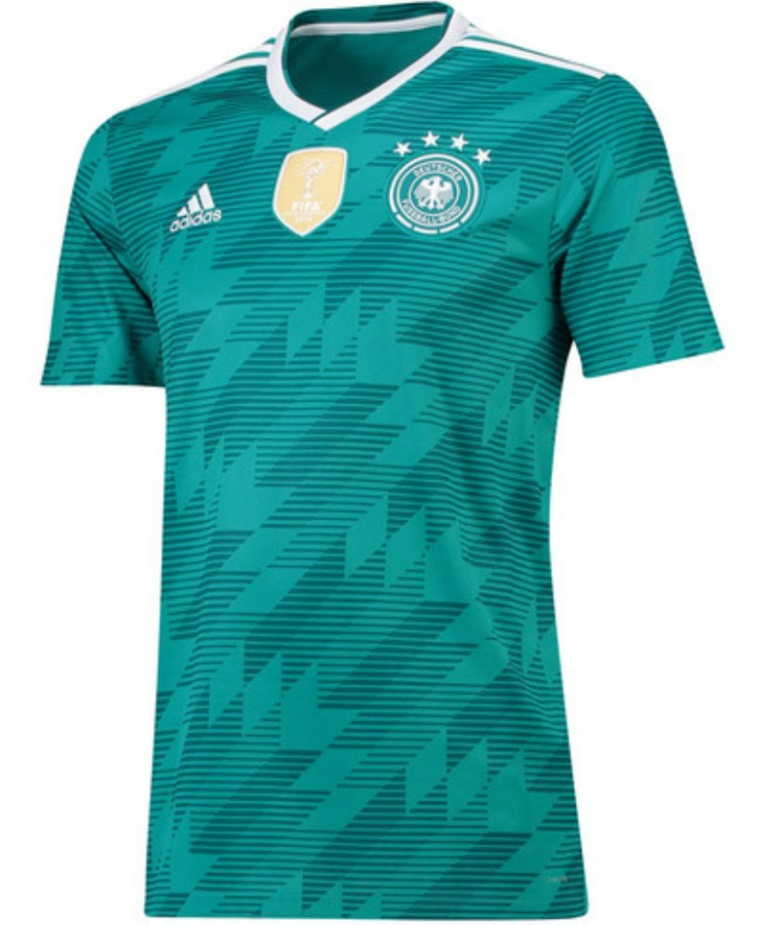 camiseta de Alemania alterno